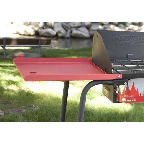 Camp Chef Folding Side Shelves Set Of 2 For 3 Burner Stove Walmart Com Burner Stove Stove Accessories Outdoor Cooking