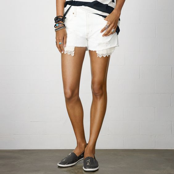 Denim & Supply Ralph Lauren Witteman カットオフ ショートパンツ / Relaxed Witteman Cut-off Shorts on ShopStyle