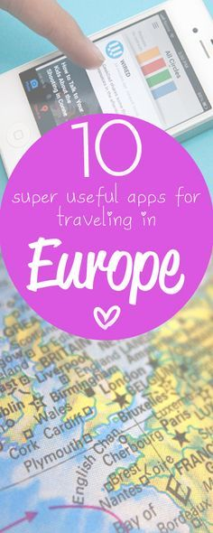 My favorite Europe #travel apps! http://www.eurotriptips.com/favourite-europe-travel-apps/