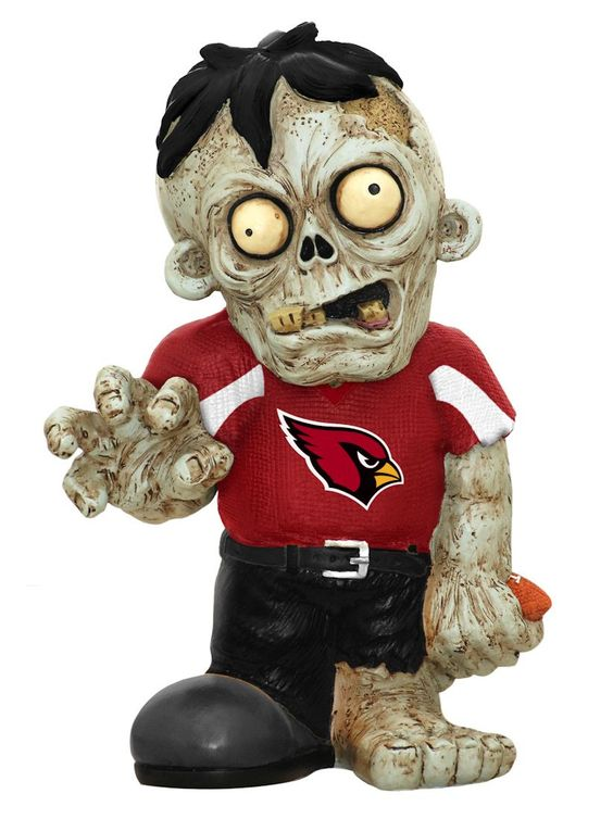 Arizona Cardinals Zombie Figurine (backorder)