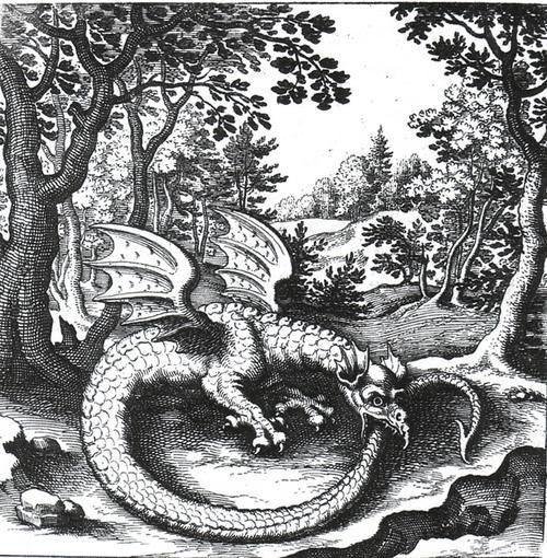 L'ouroboros est un dessin ou un objet représentant un serpent ou un dragon qui se mord la queue. Il s'agit d'un mot de grec ancien οὐροϐóρος, latinisé sous la forme uroborus qui signifie littéralement « qui se mord la queue ».