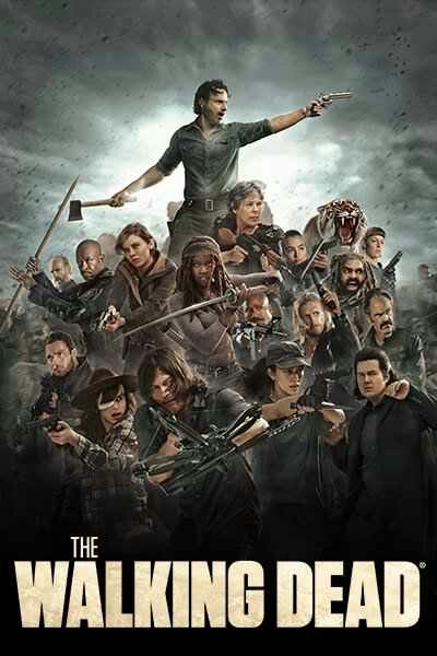 New Season 8 Group Wallpaper The Walking Dead Temporada