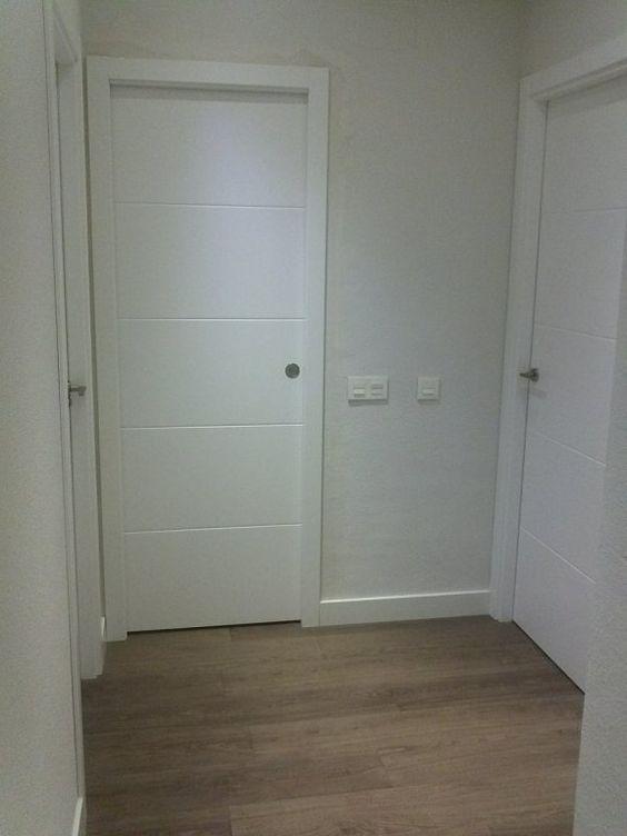 Puertas on pinterest - Puertas lacadas blancas ...