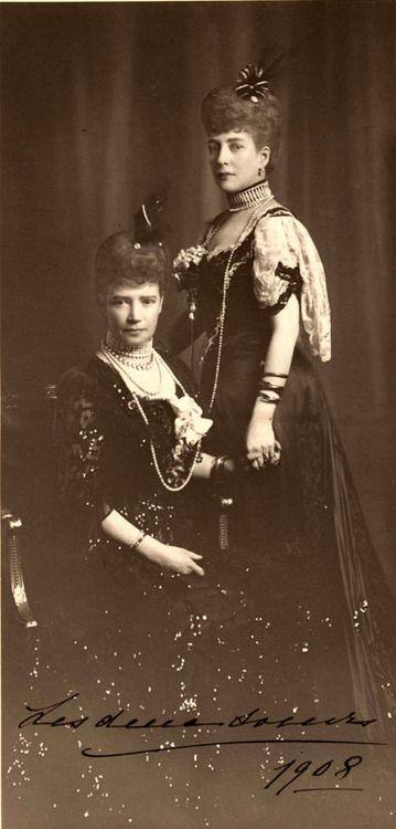 Empress Maria Feodorovna of Russia and Queen Alexandra of the United Kingdom.