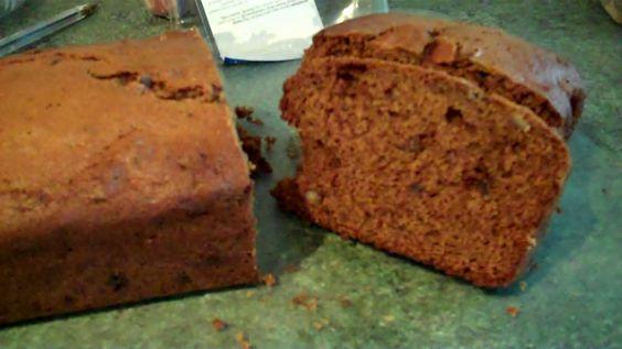 Recipe - Easy To Make Date & Walnut Bread