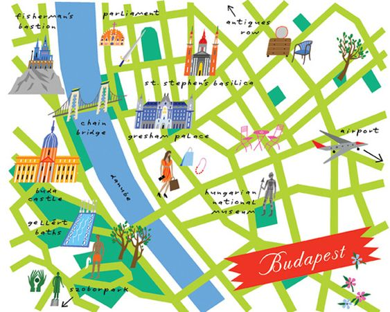 Goes to Budapest Pinterest Travel maps Minis and Budapest travel guide