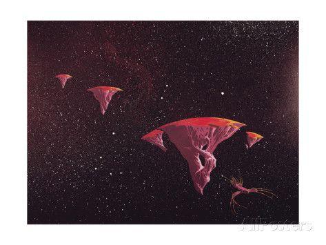 YES - YESsongs 1973 - Inner Sleeve 3 Impressão artística