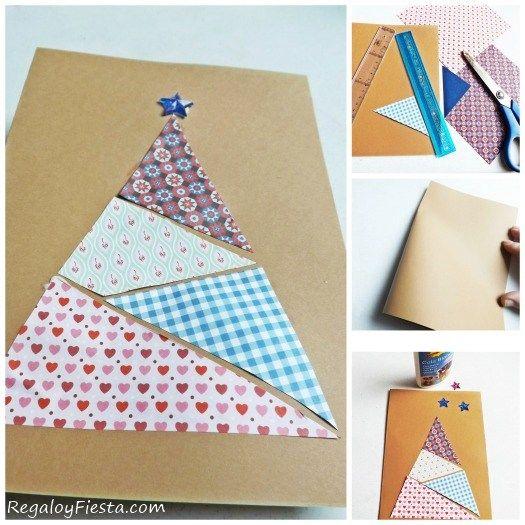 originales hechas tarjetas navidad originales tarjetas de navidad hechas a mano manu navidad tarjetas mano navidad