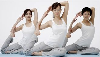 Yoga Helps to lose weight and also helps to maintain stress free life.