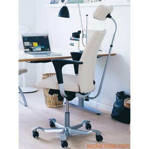H04 Chaise ergonomique de bureau avec appuiette sur demande