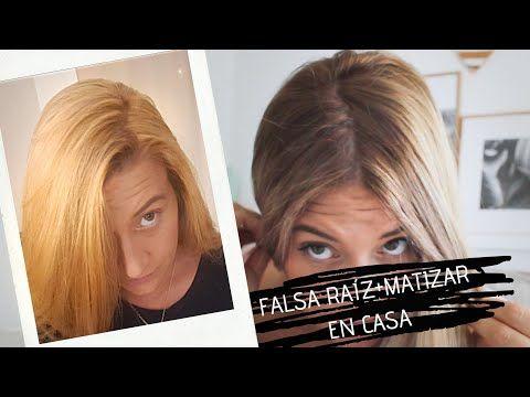 Cómo Arreglar Un Rubio Pollo En Casa Falsa Raíz Difuminada Matizar Cambio Increíble Youtube Hair Makeup Hair Bayalage