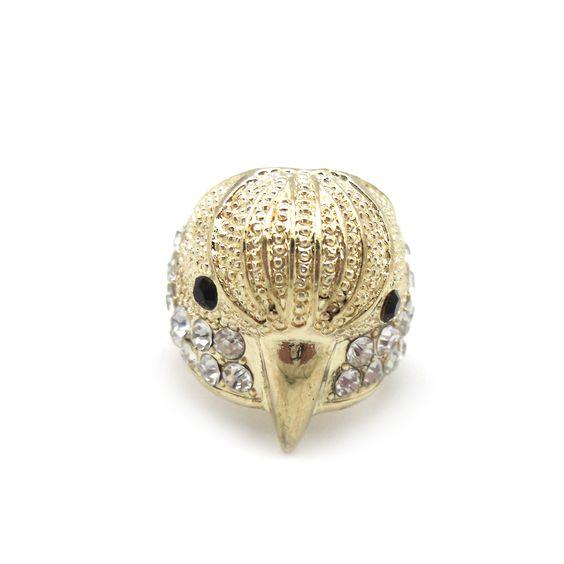 Anillo cabeza de pájaro » Torques Complementos. Venta online de complementos de moda