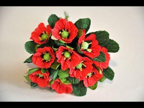 Pin On Kwiaty Z Bibuly