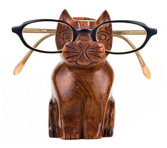 Matr Boomie Cat Eyeglass Holder — QVC.com