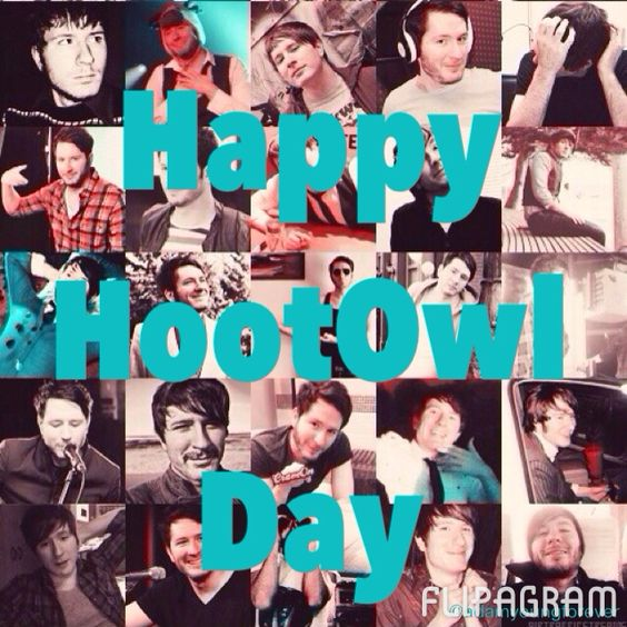 TODAY IS HOOTOWL DAY!!! *listens to Owl City for eight hours straight*