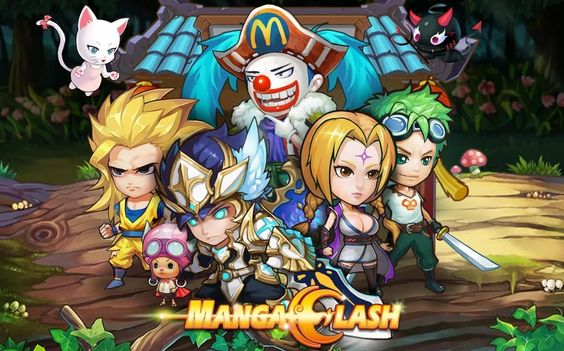 Manga Clash   Arena Battle android game first look gameplay español
