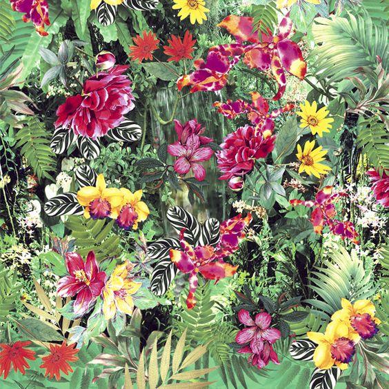 Estampa Digital - Inverno 2014: Art Patterns, Prints Patterns2, Conventional Prints, Digital Prints, Botanical Patterns, Print