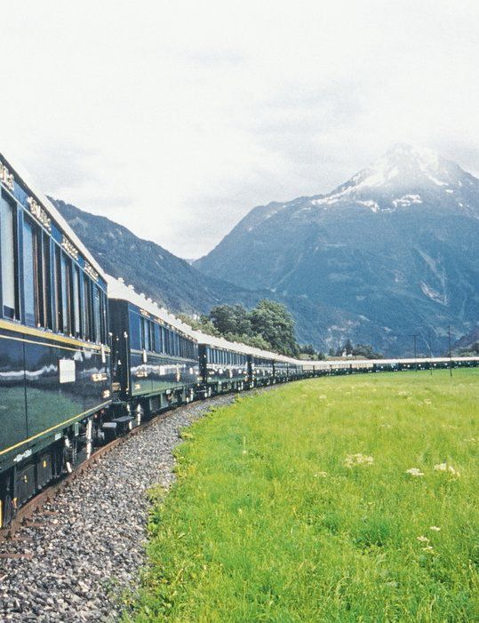 The 5 Most Luxurious Train Rides In The World The O 39 Jays