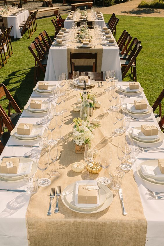 Gold And White Wedding In Napa Valley Runners Wedding