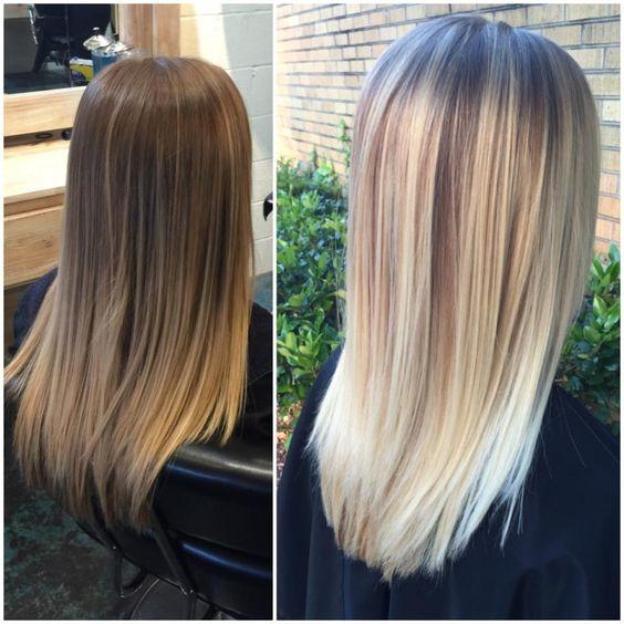 Brightening Up To Pearl Blonde Career Sun Balayage