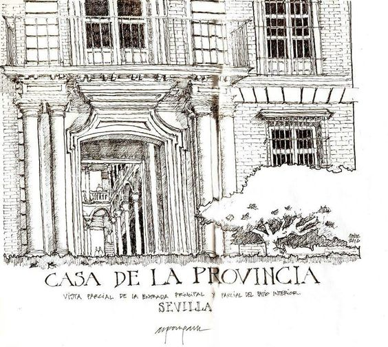 Alfonso Garcia Garcia - Casa de la Provincia, Sevilla