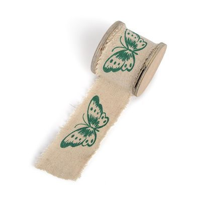 Band Schmetterling beige ca B:5 x L:300 cm