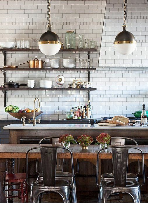 10 Gorgeous Takes On The Open Shelving Trend In 2020 Bistro