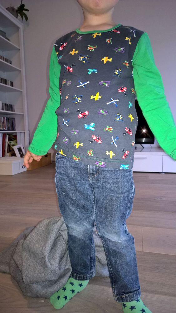 Kindershirt Paul von pattydoo  https://www.pattydoo.de/schnittmuster-kinder
