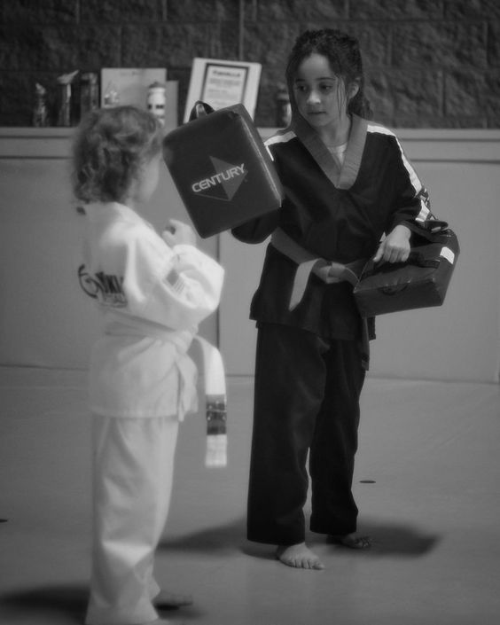 Leyla instructing today at #kyuki-do. #minolta #vintagelens #fujifilm #xe1 #martialarts