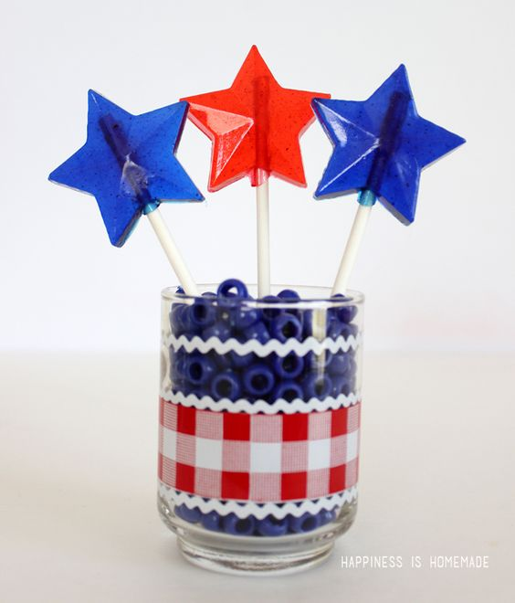 4th of july pop up cards