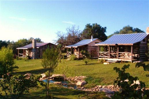Log cabins at barons creekside fredericksburg tx cozy for Cabins near fredericksburg tx
