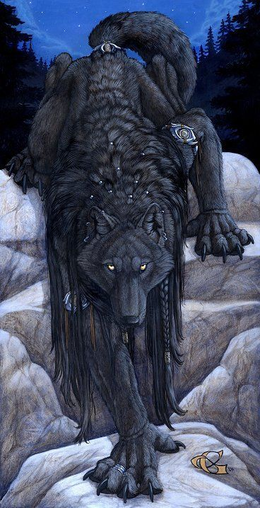 "Eyes of the Night by Christy Grandjean ( black, wolf, dark, lobo, negro, ""la obscuridad en mi que debo amarrar"")"