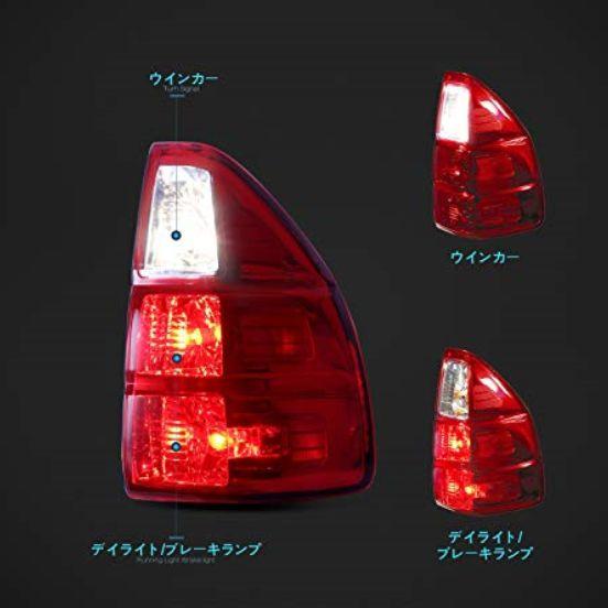 レクサス Gs470 用 テールライト テールランプ リアライト 左右セット Led レードクリア For Lexus Gs470 Led Tail Vland 車パーツ 車ライト レクサス テールランプ テールランプ レクサス 車 ライト