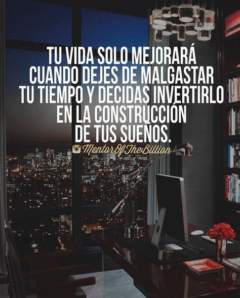 RT @vocacionalexito: Enfocarse en los sueños y no perder el tiempo. https://t.co/aeJ56ogbH3 https://t.co/Sd6aq2nUda - Armando Negrete