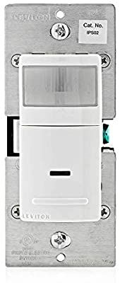 Leviton Ips02 1lw Decora Motion Sensor In Wall Switch Auto On 2 5a Single Pole White Motion Activated Wall Switches Amazon In 2020 Leviton Motion Sensor Switch