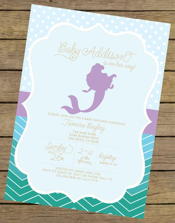 baby showers mermaids invitations showers mermaid baby showers baby