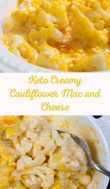 Keto Creamy Cauliflower Mac and Cheese