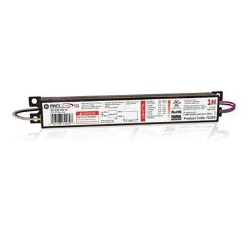 Ge Lighting 72269 Ge132 Mv N 120 277 Volt Multi Volt Proline Electronic Fluorescent T8 Instant Start Ballast 1 F32t8 Lamp