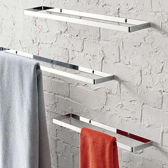 Our Favorite Bathroom Towel Rail John Lewis Only On Shopyhomes Com Modern Bathroom Accessories Chrome Towel Bar Modern Towel Bars