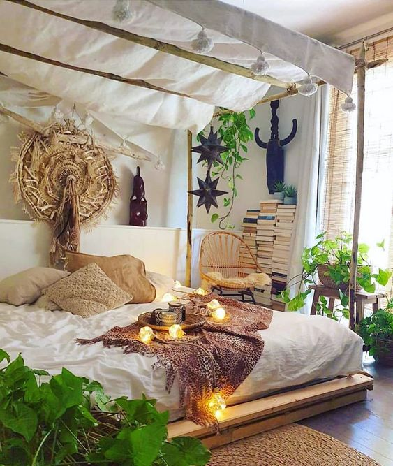 10 Ravishing Bohemian Bedroom Inspirations - The Mood Palette