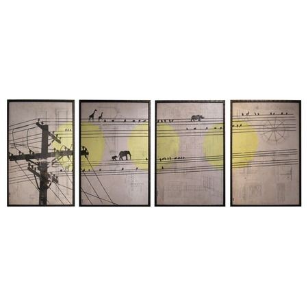 Wall Sconces Joss And Main : Kevin Busta 4 Piece Animals on Wire Wall Decor Set at Joss & Main Just a Note ? Pinterest ...