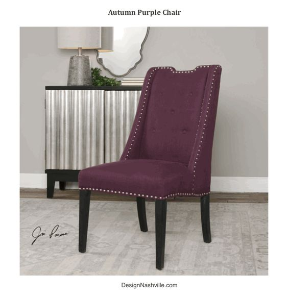 Autumn Purple Chairs, set of 4,6,8