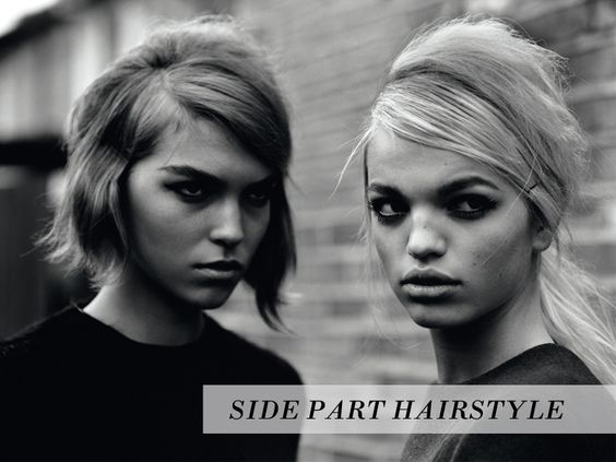 side part hairstyle  http://www.thevandallist.com/how-to-wear-side-part-hairstyles/