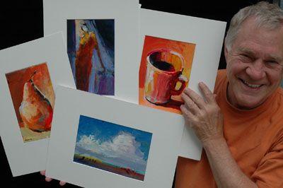 Robert Burridge Studio - ArtsyFartsy News April 2013