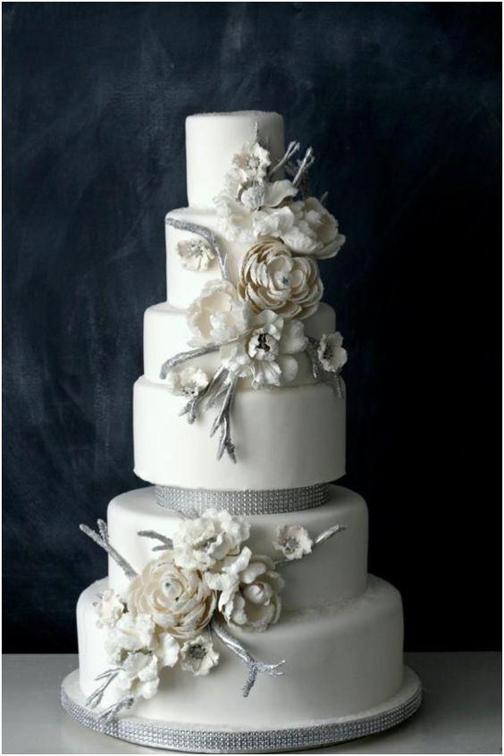 #bolo #casamento #branco