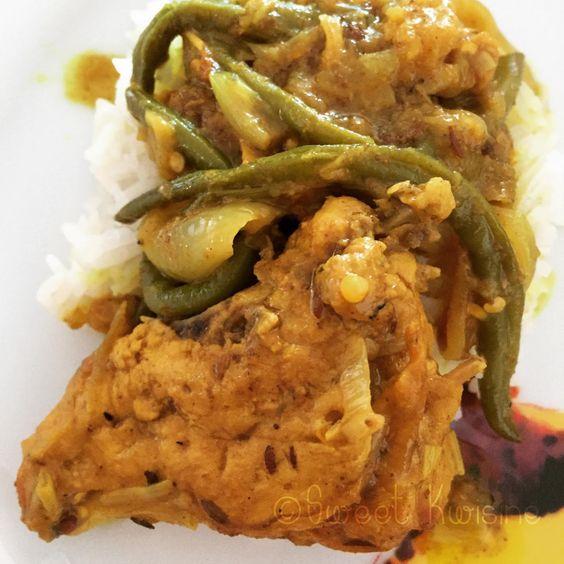 Colombo de poulet de Martinique