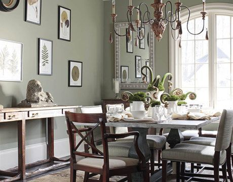 9 Best Green Paint Colors For Every Room In Your Home | Soothing Colors,  Benjamin Moore And Amelia