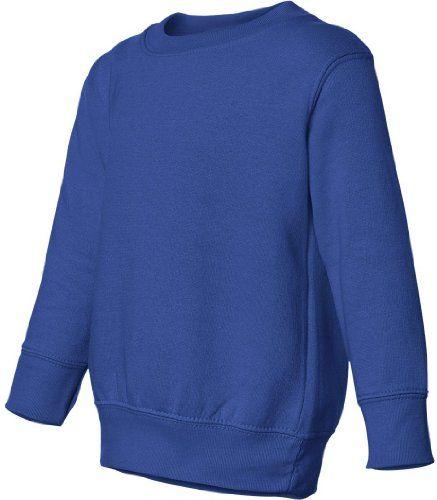 Rabbit Skins Toddler 7.5 oz Sweatshirt. 3317 - 3T - Royal [Apparel] $13.88