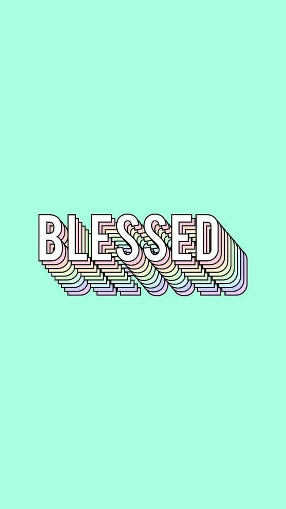 Wallpaper Iphone Tumblr Aesthetic Blessed Teal Teal Wallpaper Blessed Wallpaper Christian Wallpaper