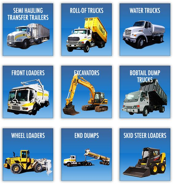 Names of heavy construction equipment featured projects Construction types insurance